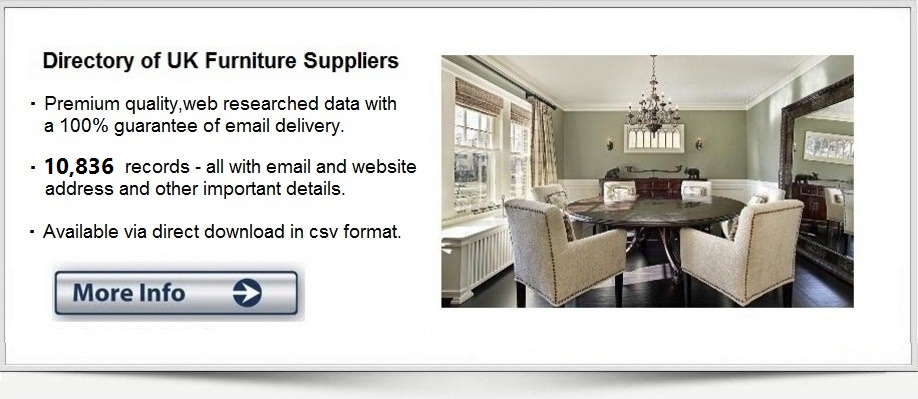 furniture shops list